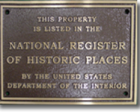 Historic Building Plaque