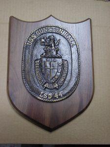 gunston hall ship plaque