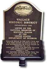 national register custom plaque