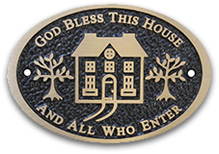 god bless this house plaque