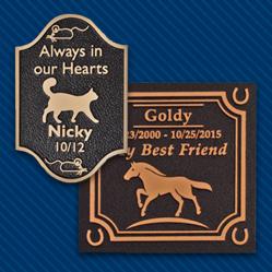 Pet Memorial Markers