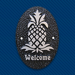 Pineapple Gift Plaque