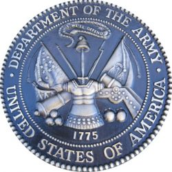 Army Bas Relief Seal