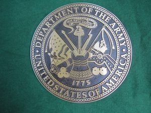 Bronze Army Seal