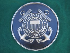 Bronze US Coast Guard Seal 2