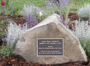 garden memorial plaque
