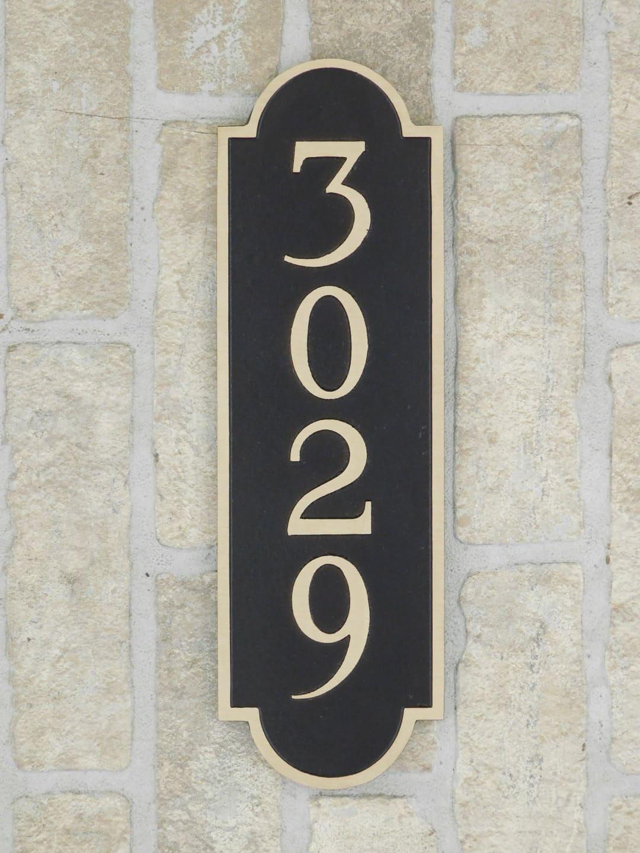 Picture of: Bronze Address Plaques Aluminum House Plaques Erie Landmark