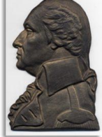 Bronze Bas Relief