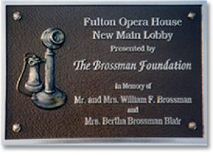 custom-opera-house-plaque