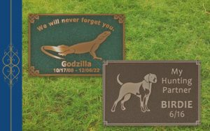 erie landmark pet plaques