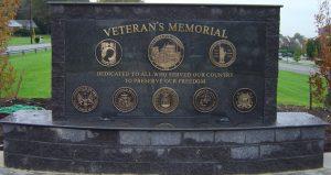bronze veteran memorial plaque
