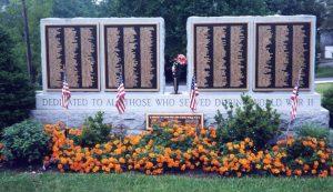 bronze war memorial plaque