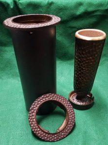 bronze grave marker vase