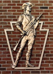 bas relief soldier plaque