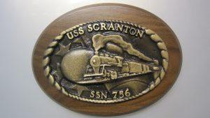 scranton ship plaque