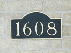 2 Address Plaque 3